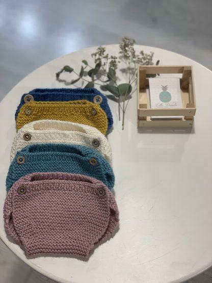 Cubrepañal de lana