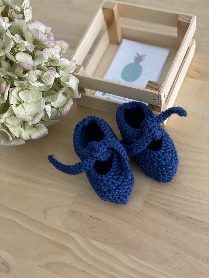 patuco azul marino