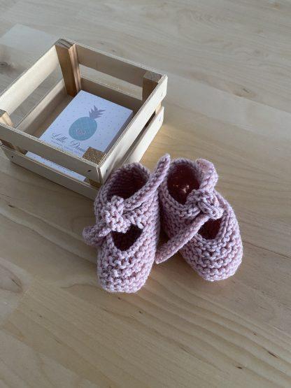 patuco rosa palo lana