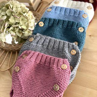 cubrepañales de lana