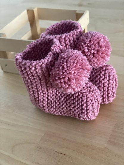 Botitas rosa frambuesa