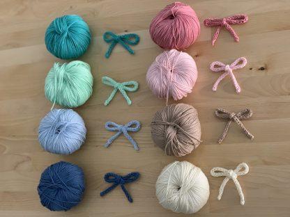 madejas colores algodon