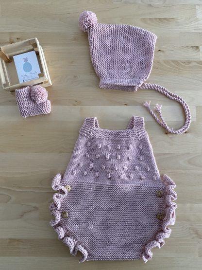 Conjunto Caramelo rosa bebé