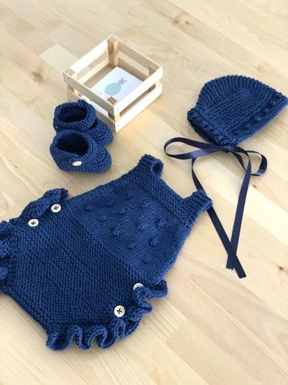 conjunto cayetano azul marino