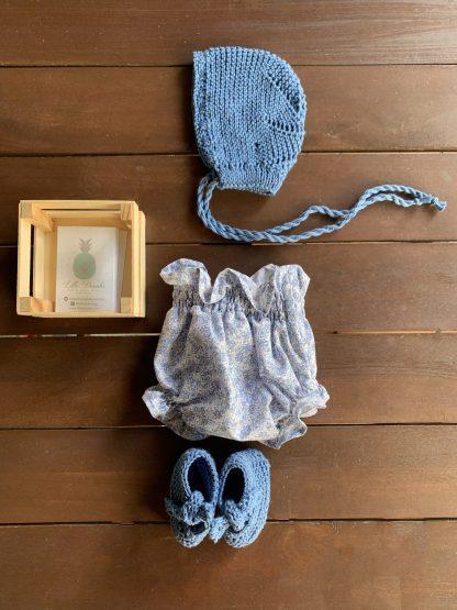 capota azul algodon