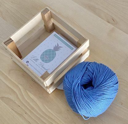 algodon azul marino
